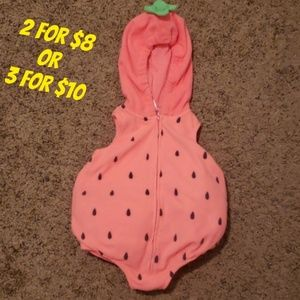 ❤ Hooded Strawberry Costume
